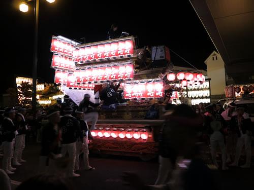 奥河内 長野のだんじり祭り