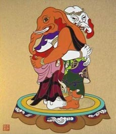 歓喜天、奥河内の松林寺で抱き合う 【奥河内 神仏 見楽記】
